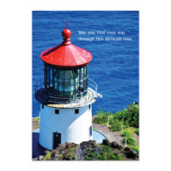 Lighthouse Sympathy Card